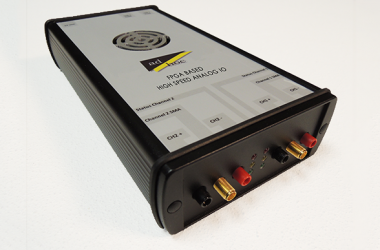 FPGA based high speed analog IO